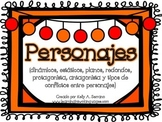 All About Characters Posters in Spanish/Carteles todo sobre personajes (español)