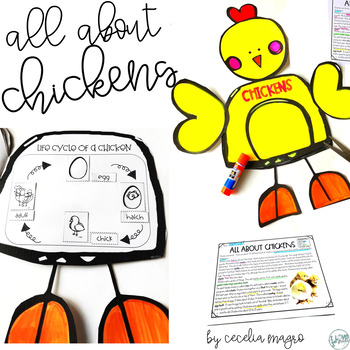 All About Chickens Book Craft