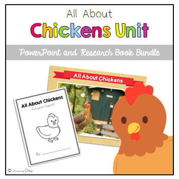 All About Chickens Unit Bundle