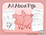 All About Pigs, Writing, Graphic Organizers, Diagram {K-3 CCSS Research}
