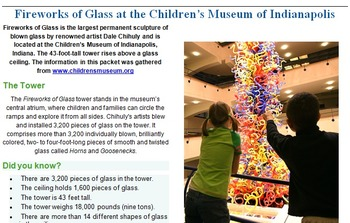 Art History: All About Chihuly & Glassblowing!