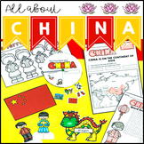 China Geography Maps Activities