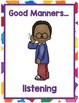 All About Choices & Manners Minilesson for Preschool, PreK, K, & Homeschool