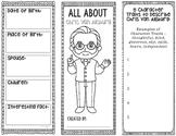 CHRIS VAN ALLSBURG - Famous Author Biography Research Project Graphic Organizer