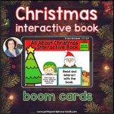 Christmas Interactive Book   Boom Cards™ with WH-questions