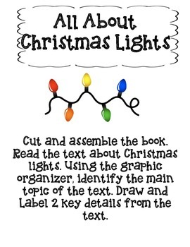 All About Christmas-Main Topic and Key Details Bundle