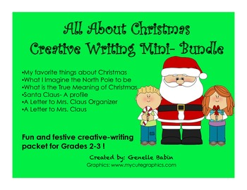 All About Christmas Mini-Bundle Grade 2-3
