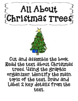 All About Christmas Trees-Main Topic and Key Details