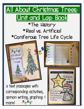 All About Christmas Trees: Unit & Lap Book