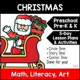 All About Christmas Unit/Lesson Plans for Preschool, PreK, K, & Homeschool