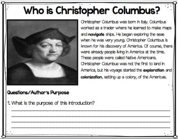 All About Christopher Columbus: Paperless Digital Social Studies