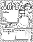 All About Christopher Columbus Poster: A Funtastic Columbus Day Activity