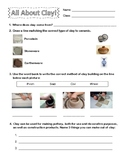 All About Clay Worksheet