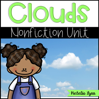All About Clouds Nonfiction Unit