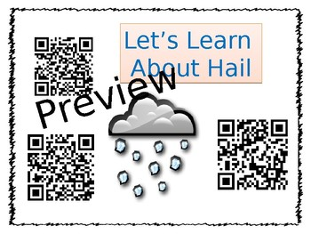 All About Clouds and Precipitation  PowerPoint and QR code Research