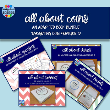 All About Coins Bundle {4 Adapted Books}