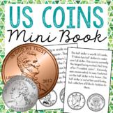 All About Coins Mini Book, Interactive Notebook Flip Book, Money Center Activity