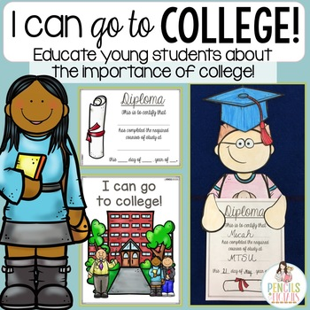 All About College - Class Book, Research Activity, Craft, & More!