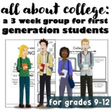 All About College! Group for First Generation Students