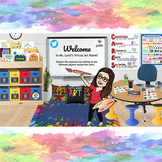 All About Color Virtual Art Room (Virtual Classroom w/ 34 Links)