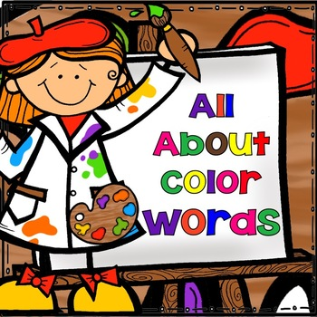 All About Color Words!!