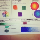 All About Color (using Colored Pencil)