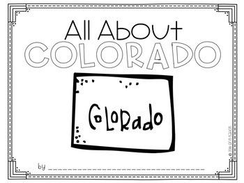 """All About Colorado"" a cut-a-sentence book"