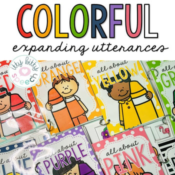 All About Colors - Interactive Book Mega Bundle