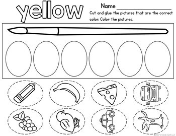 All About Colors Unit