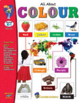 All About Colour Grades K-1 (Enhanced eBook)