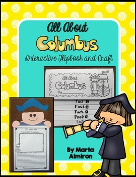 All About Columbus Interactive Flipbook and Craft