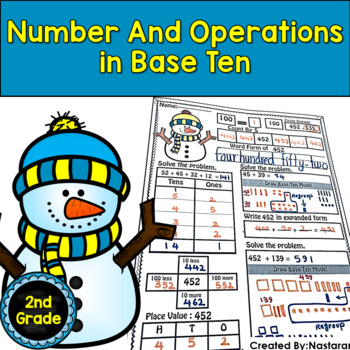 All About Common Core Number and Operations in Base Ten 2nd Grade
