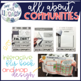 All About Communities: Interactive Flip Book and Map Design