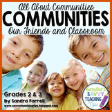 All About Communities – Our Friends and Classroom