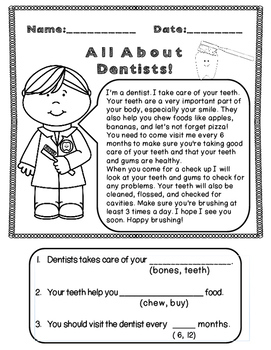 All About Community Helpers: Informational Text