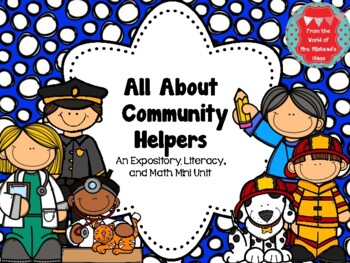 All About Community Helpers Mini Unit