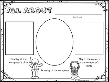 All About Composers Display Pages