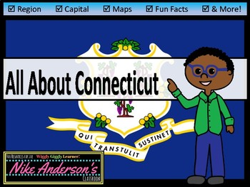All About Connecticut | US States | Activities & Worksheets