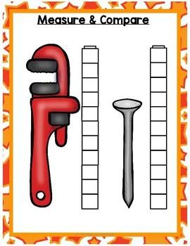 More On Developmentally Appropriate >> All About Construction Math Centers for Preschool, PreK, K, & Homeschool