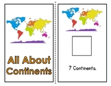 All About Continents Adapted Book (2 Levels)