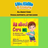 All About Core, An Alphabet Book for Emerging Readers-Boar