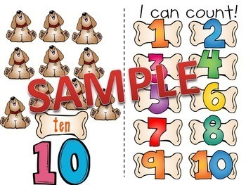 All About Counting Pack! (Activities, Posters, Puzzles, Books, Etc.)