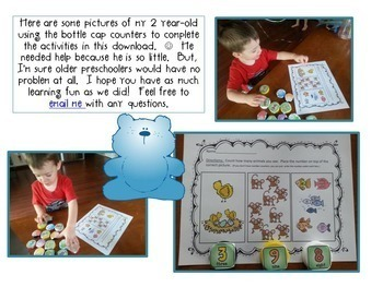 All About Counting 1-10 Pack