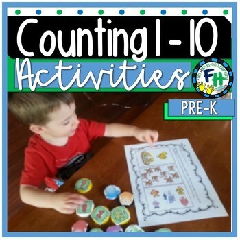 All About Counting Pack! (Activities, Posters, Puzzles, Bo