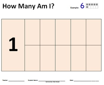 All About Counting to Ten - Ten Frame Worksheets