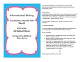 All About Countries Book