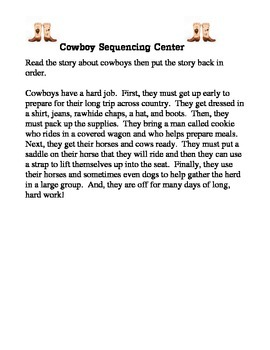 All About Cowboys Unit