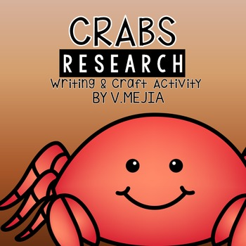 Crabs Research Craftivity