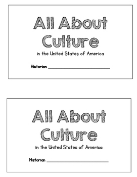All About Culture - USA