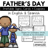 All About Dad - Father's Day Printables in English and Spanish!